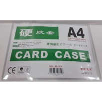 Card Case JX-804 Uk. A4 | Plastik ID Tebal Uk. A4 (Pak Isi 20 Lembar)