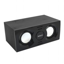Robot RS130 Wooden Multimedia Deaktop Speaker Black