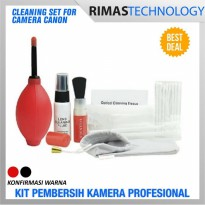 Cleaning Set for Camera Canon Satu Sets Kit Pembersih Brush Kamera