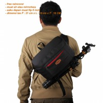 Tas kamera dslr mirrorless eibag 1771
