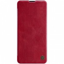 Case Samsung Galaxy A51 Nillkin Qin Leather Flip - Red