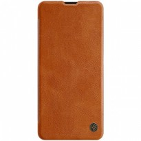 Case Samsung Galaxy A51 Nillkin Qin Leather Flip - Brown