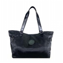 Tas Wanita Original Kipling Art Organized Metallic Handbag - Black