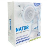 Natur Manual Breast Pump - Alat Pompa ASI BPA free
