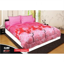Bed Cover set All New My Love T30 Fitted King 180 x200 Cherry Blossom