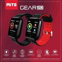 SMARTWATCH MITO GEAR 20 - WATERPROOF - TOUCH SCREEN - GARANSI RESMI