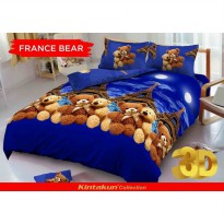 Bed Cover set Kintakun D'luxe Queen 160 / King 180 FANCE BEAR