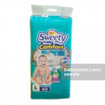 Sweety Popok Bayi Silver Comfort Tape - L 40