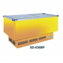 GEA SLIDING FLAT GLASS FREEZER/ SD-636BP / GARANSI 1 THN