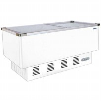 GEA SLIDING FLAT GLASS FREEZER/ SD-516BP / GARANSI 1 THN