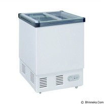 GEA SLIDING FLAT GLASS FREEZER/ SD-132P / GARANSI 1 THN