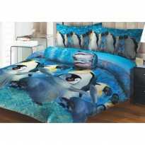 SPREI LADY ROSE PENGUIN No.1 KING 180 SEPRAI SPRAI SEPRAY BED LINEN