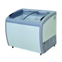 GEA SLIDING CURVE GLASS FREEZER/PREMIUM SERIES/SD-360BY/ GARANSI 1 THN