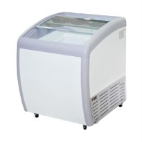 GEA SLIDING CURVE GLASS FREEZER/PREMIUM SERIES/SD-160BY/ GARANSI 1 THN