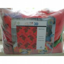 SELIMUT LADY ROSE 160x200 3D RED LOVE BLANKET