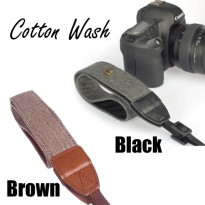 STRAP KAMERA COTTON SALUR Wash (DSLR & MIRRORLESS)