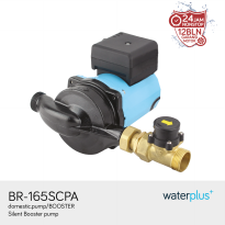 waterplus+ | Pompa Booster | Silent Booster | BR-165SCPA (80/110/130W)