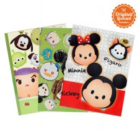 Disney Tsum Tsum School Book Al Gold Pocket 38 (Isi 3 Pcs)