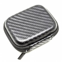 Shock-proof Earphone Storage Bag for Xiaomi Yi / GoPro - Tas Kamera