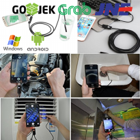 USB Kamera Endoskopi Handphone Android Komputer Endoscope Camera 1,5m