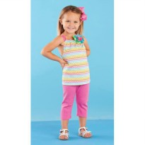 Colorful Tunic & Legging Set #1112167
