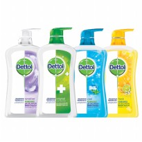 Dettol Body Wash Cair 625ml - All Varian Original/Cool/Fresh/Sensitive