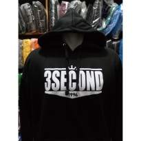 hoodie 3second/sweater 3second black