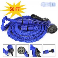 [T L] Magic X Hose 15 Meter/ 50 Feet/ Selang Taman Biru