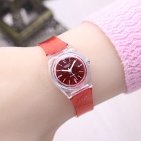 SWATCH JELLY RED.