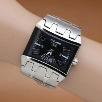 Police - Stainless Steel Case Stainless (Silver Black)