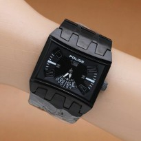Police - Stainless Steel Case Stainless (Black)