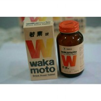 Wakamoto obat maag dried yeast tablet original murah