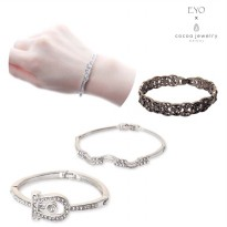 Cocoa Jewelry Koleksi Gelang Wanita Korea / Korean Bangle | Material Alloy