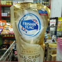 Bendera Full Cream Gold Pouch
