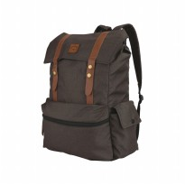 CATENZO Unisex Backpack MB 003 - Tas Ransel Laptop Cordura - Brown (New Arrival)