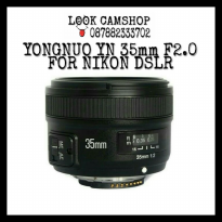 LENSA KAMERA DSLR YONGNUO / YOUNGNOU YN 35mm 35 F/2.0 FOR NIKON