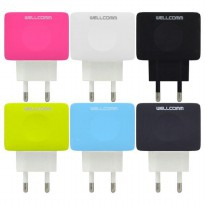 Wellcomm Travel Charger 3A Fast Charging Cable Type C - ATCTYPEC3AW
