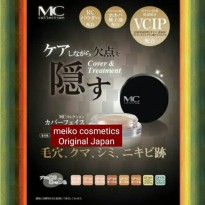 MC Collection Cover Face Naturactor Meiko Original Japan Bedak Make Up Makeup Wajah Penutup Flek Pori Pori Besar Best Seller