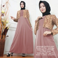 Dress Muslim Gamis Lebaran Modis Daman clo