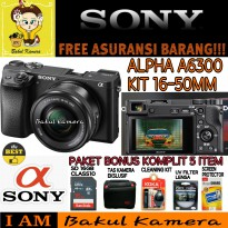 (Best Deals) SONY ALPHA A6300 KIT 16-50MM / ALPHA A6300 / A6300 / SONY
