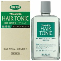 YANAGIYA Medicated Hair Growth Hair Tonic Subtly Fragrant Quasi Drug Tonik Perawatan Kesehatan Rambut Best Seller