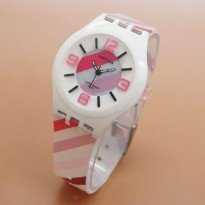 FORTUNER ANTI AIR LADIES WHITE ANGKA PINK