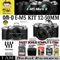 KAMERA OLYMPUS OM-D E-M5 MARK II KIT 12-50MM / OLYMPUS OMD EM5 MARK II