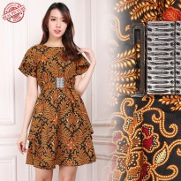 Glow Fashion Dress batik maxi pendek wanita mini dress Viona