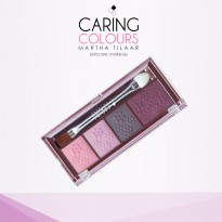 Caring Colours Happy Eye Shadow Series - 01 Carnivale