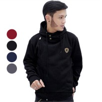 JAKET | SWEATER PRIA NEW HARAKIRI ZIPPPER FINGER FLEECE PREMIUM HIGH QUALITY