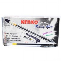 [12 pcs] Pulpen Easy Gel Kenko 0.5 mm atk