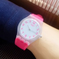 SWATCH RUBBER PINK