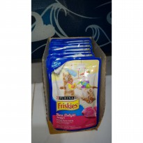 Purina friskies tuna delight perisa tuna kitten Anak Kucing