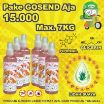 D&C Grosir Spray Anti Kutu Anjing & Kucing 6 Pcs - 250ML